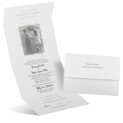 Romantic Surprise - Seal and Send Invitation