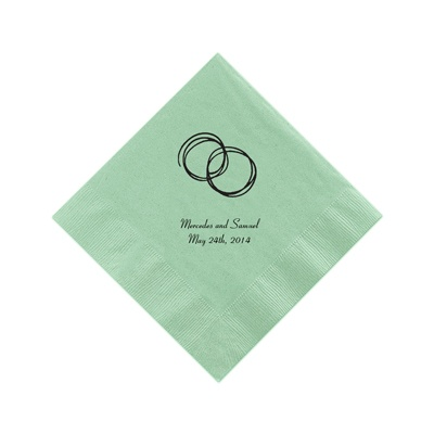 Light Sage Cocktail Napkins