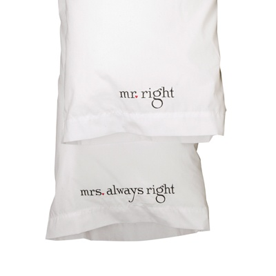 Always Right Pillowcases