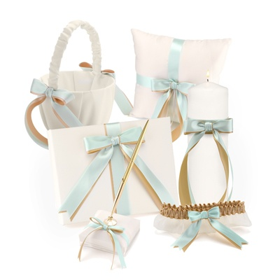 Custom Ribbons Ivory Collection