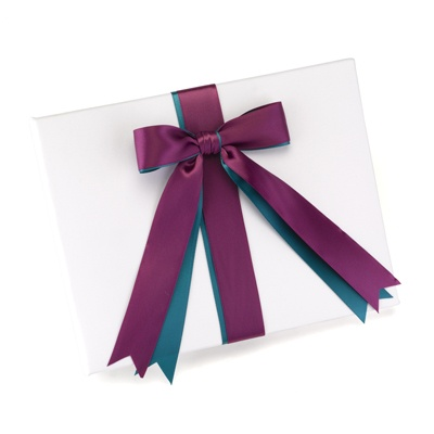 Custom Ribbons Guest Book