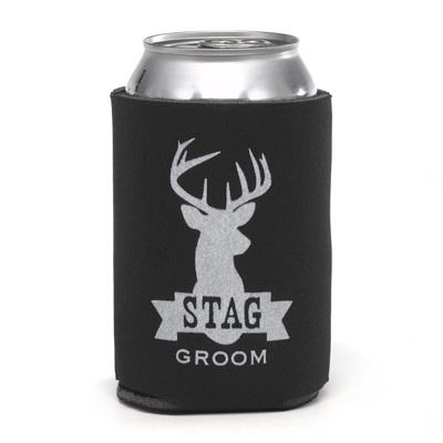 Stag Can Cooler - Groom