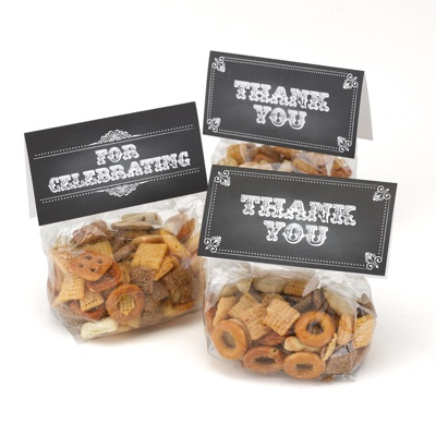 Chalkboard Style Tags with Treat Bags