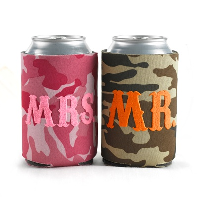 Camo Can Cooler Set