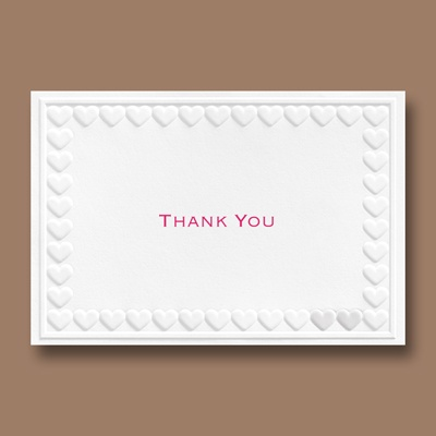 One in a Million - Thank You Card and Envelope