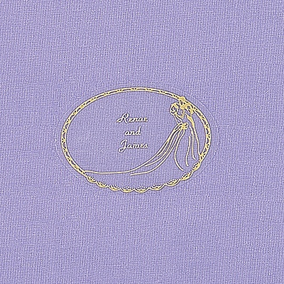 Gold Foil Personalized Couple Seal