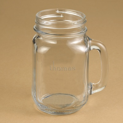 Groomsmen Country Canning Jar Mug