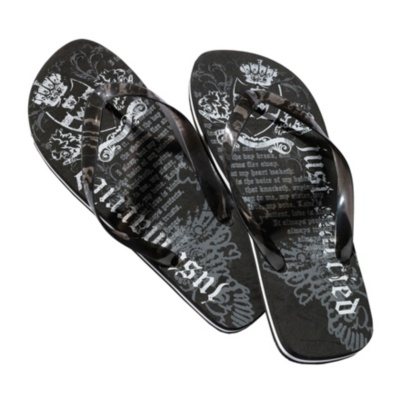 Just Married Men's Flip Flops