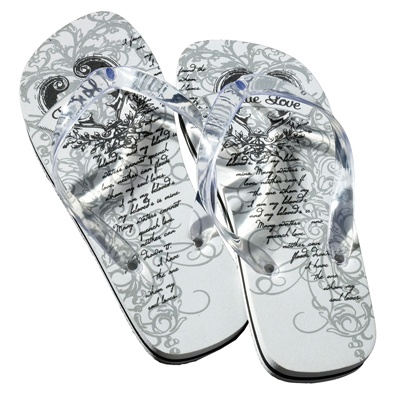 Just Married Women's Flip Flops