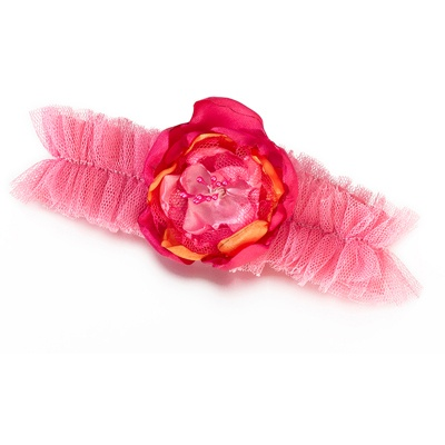 Tropical Beauty Wedding Garter