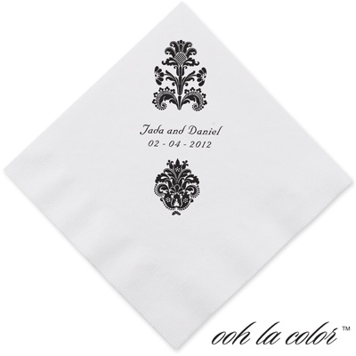 Clearly Refined - Ebony - Dinner Napkin