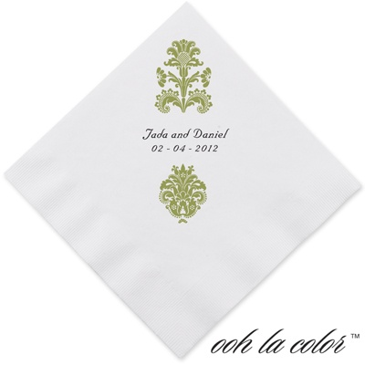Clearly Refined - Kiwi - Dinner Napkin