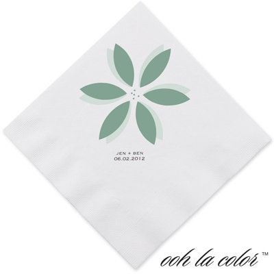 Floral Delight - Fern - Dinner Napkin