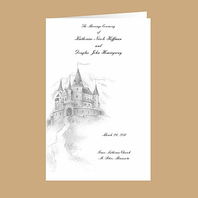 Happily Ever After - DIY Wedding Program