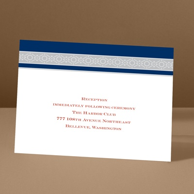 Band of Silver - Eclipse - Reception Card