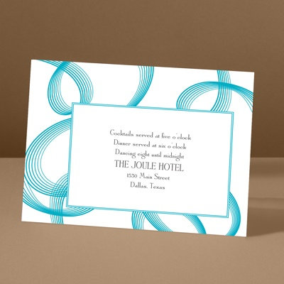 Beautifully Modern - Palm - Reception Card