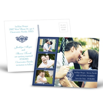 Photo Delight - Eclipse - Save the Date Postcard