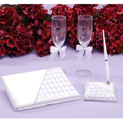 Woven with Rhinestones Accessory Set