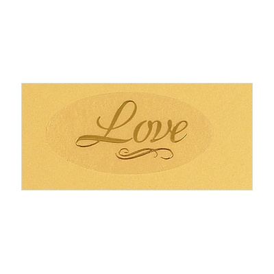 Gold Love Seal