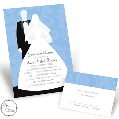 Picture This - Cornflower - Invitation