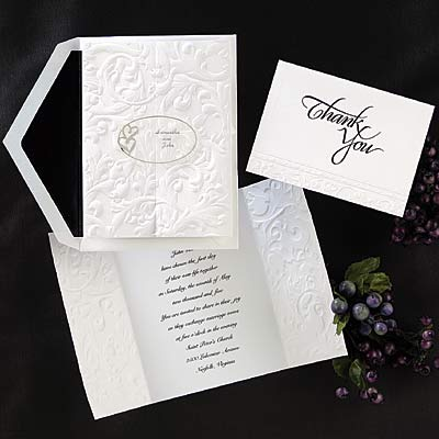 Elegant Filigree - Invitation