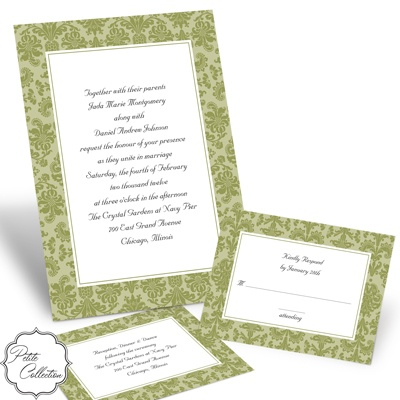 Clearly Refined - Kiwi - Invitation