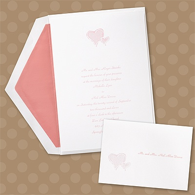 Stylized Perfection - Heart - Invitation