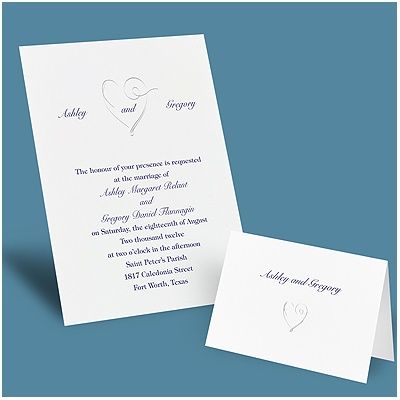 Elegant Heart - Invitation