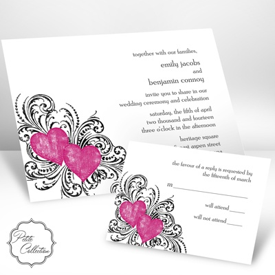 Hearts and Flourishes - Lipstick - Petite Invitation