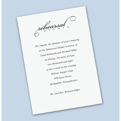 Wedding Event Invitations