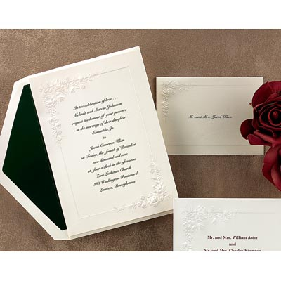Cherished Roses - Invitation