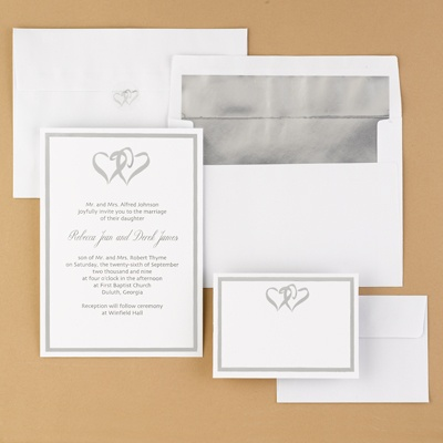 wedding invitations wedding invitation anns bridal With blank heart wedding invitations