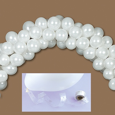 Balloon arch ann 39 s bridal bargains for Balloon arch tape