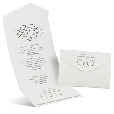 Love Declared Seal And Send Wedding Invitation