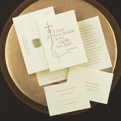 Religious Wedding Cards on Home    Send Your Wedding Invitations    Christian Wedding Invitations