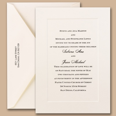 The Dos And Donts of Wedding Invitations